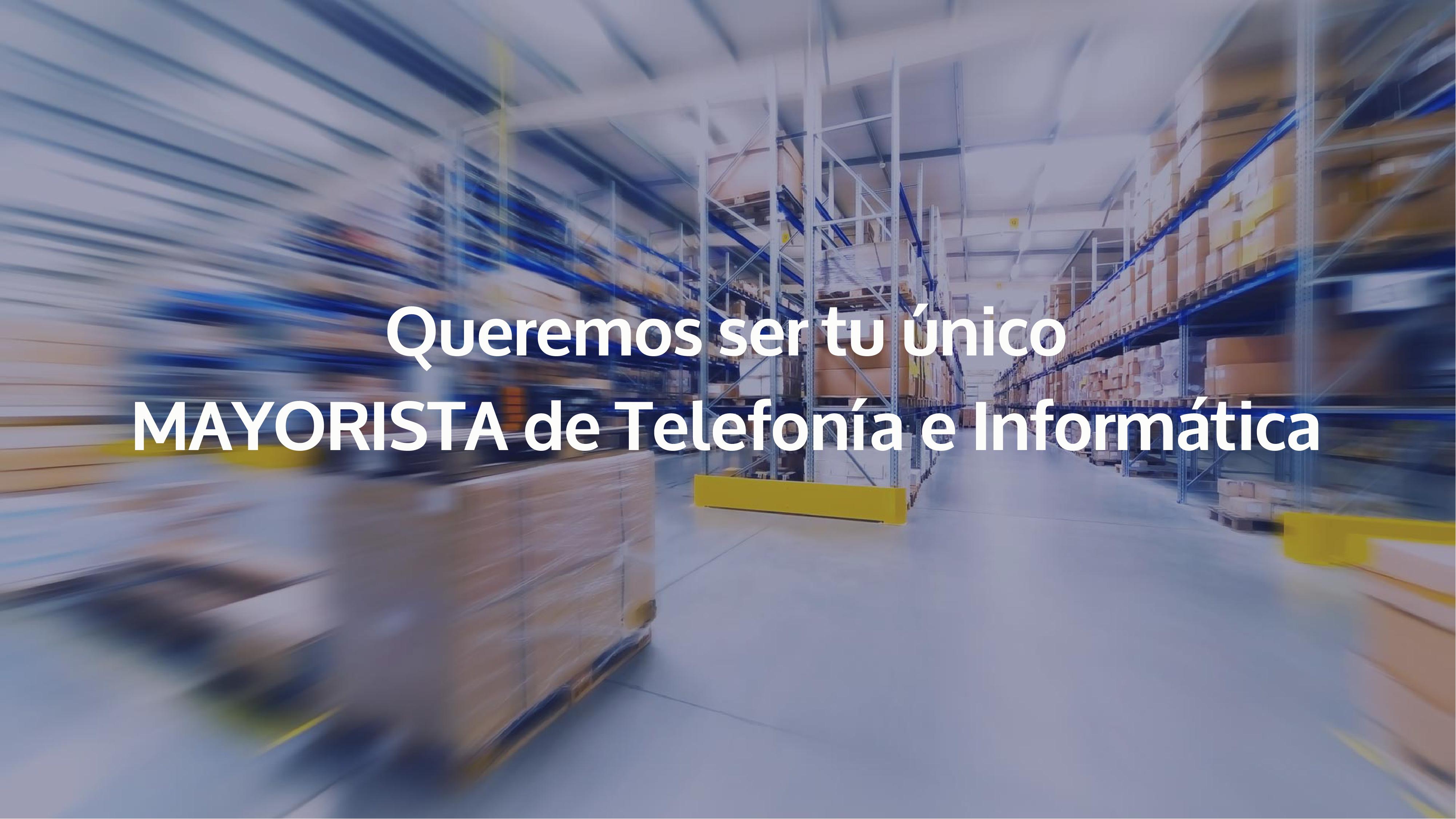 Mayorista de Telefonia e Informatica en España